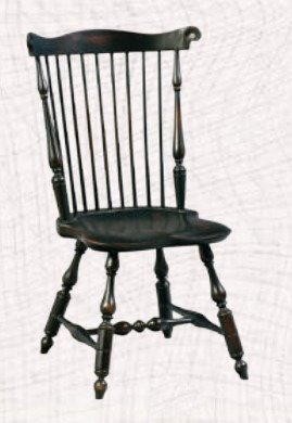 Amish Fanback Windsor Dining Room Chair