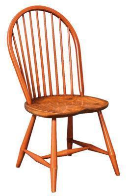 Amish Classic Bow Back Windsor Chair