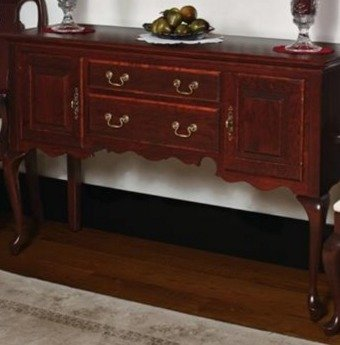 Amish Antique Queen Anne Sideboard