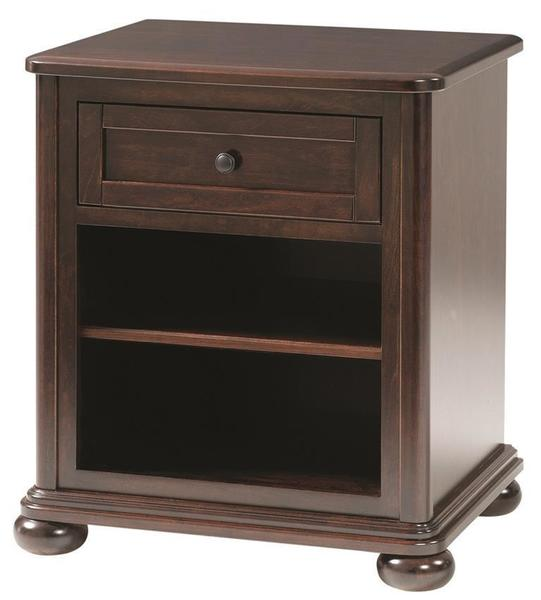 Amish Hyde Park One Drawer Nightstand