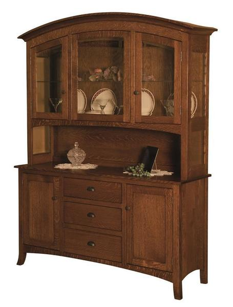 Amish New Century Mission Hutch