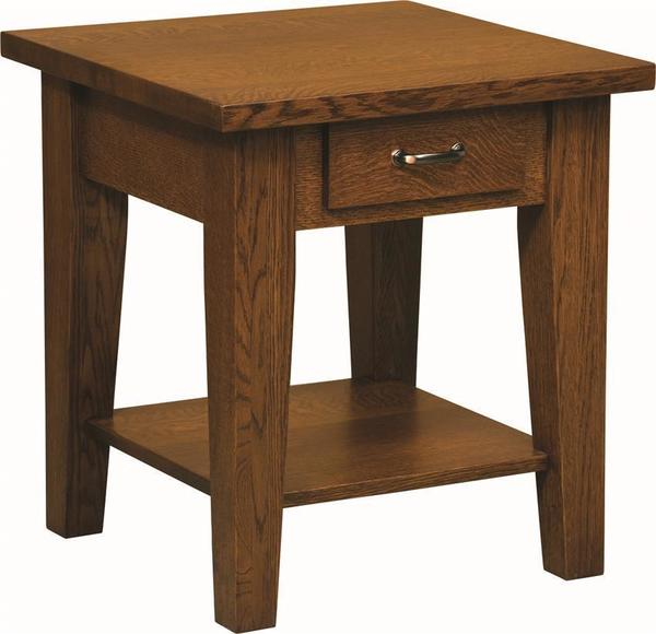 Amish Heritage Shaker End Table
