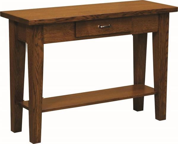 Amish Heritage Shaker Sofa Table