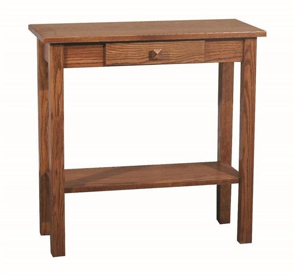 Amish Heritage Mission Sofa Table