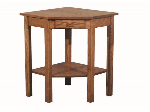 Amish Heritage Mission Corner Table