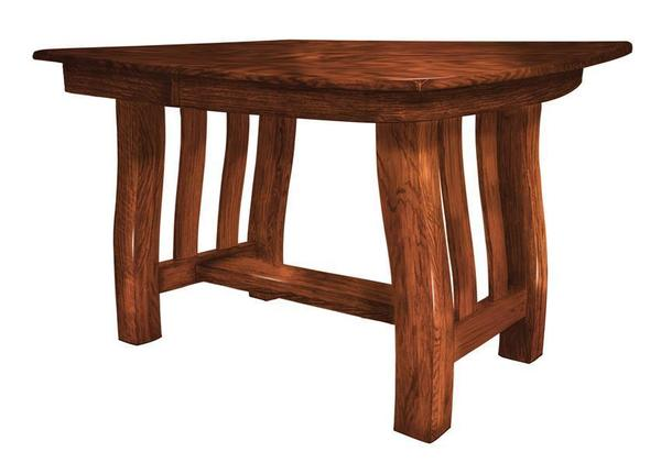 Emerson Trestle Dining Table From Dutchcrafters Amish Furniture