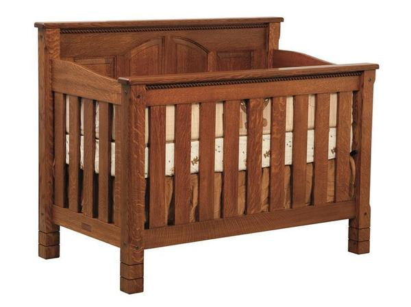 Amish Caroline Convertible Crib
