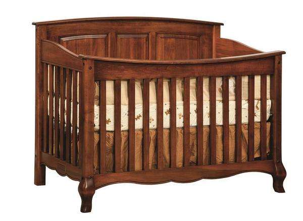 Amish West Estates Convertible Crib