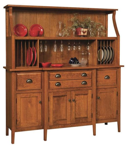 Amish Stowell Buffet with Top Unit