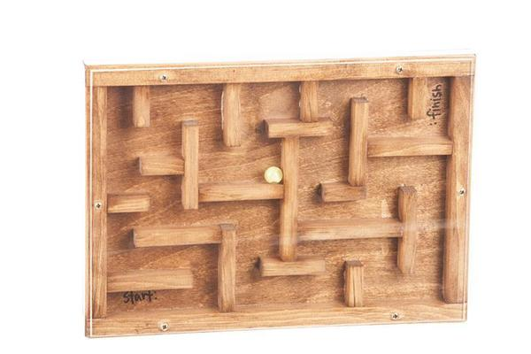 Amish Wooden Marble Maze From Dutchcrafters Amish Furniture