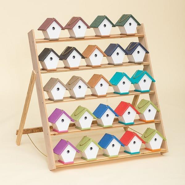 Amish Eco Poly Wren Bird House