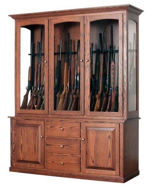 Deluxe 20 Gun Cabinet From