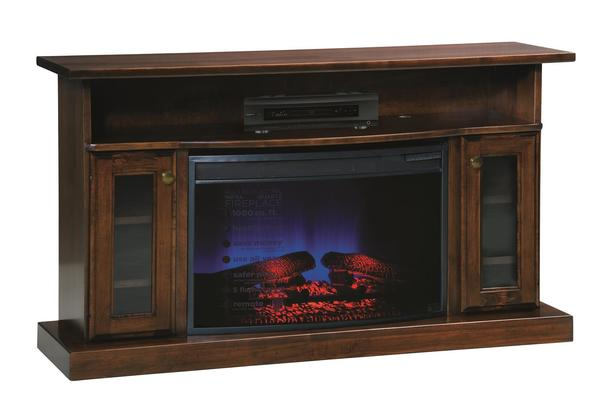"Amish 49"" Electric Fireplace TV Stand"
