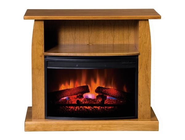 "American Made Shaker 38"" Electric Fireplace TV Stand"