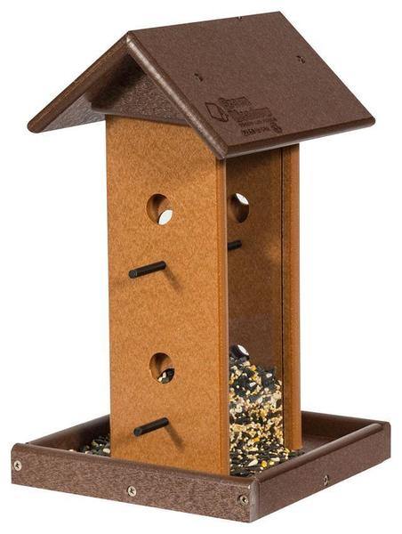 Amish Poly Song Bird Feeder