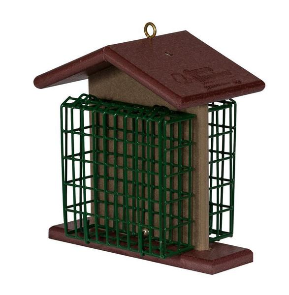 Amish Poly Hanging Double Suet Bird Feeder