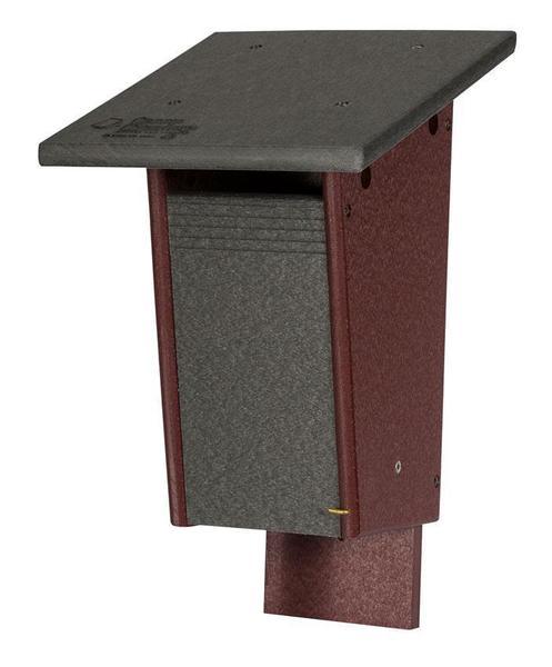 Amish Poly Sparrow Resistant Blue Bird House
