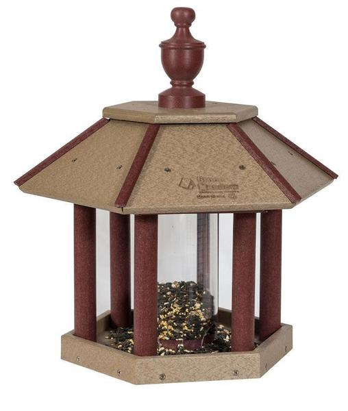 Amish Poly Gazebo Bird Feeder