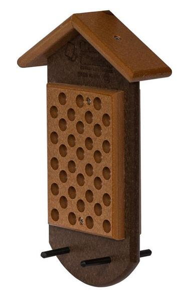 Recycled Poly Double Peanut Butter Feeder