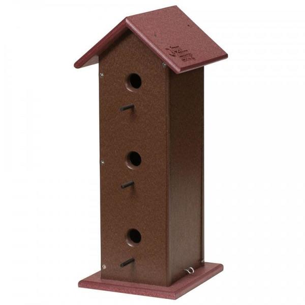 Amish Poly Trio Bird House