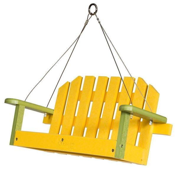 Poly Bird Feeder Swing