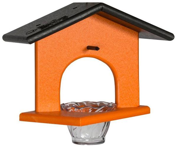 Amish Poly Hanging Single Oriole Bird Feeder