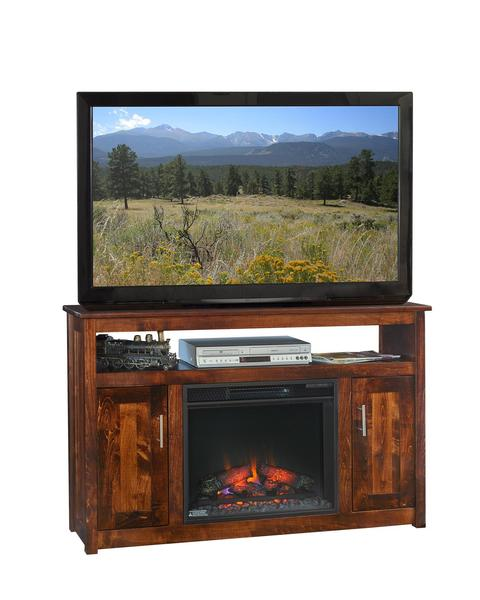 "Amish Finsbury Park 51"" Electric Fireplace TV Stand"