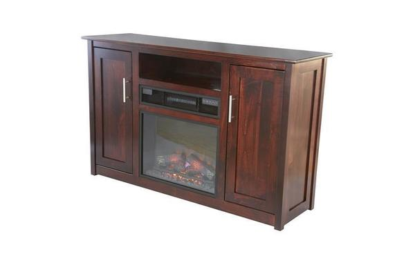 "Amish Camden 57"" Electric Fireplace TV Stand"