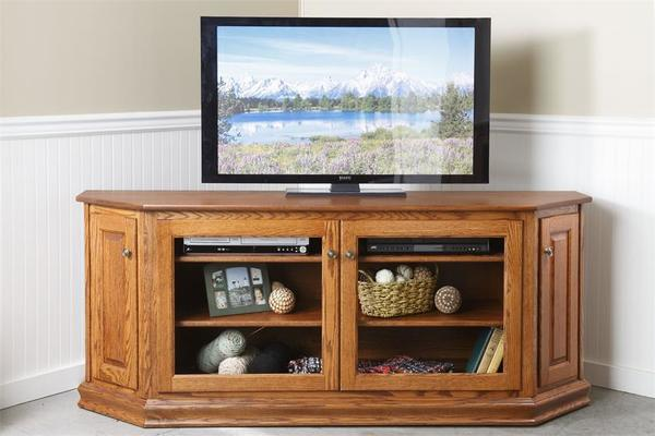 "Amish Hampstead Hill 73"" Display TV Stand"