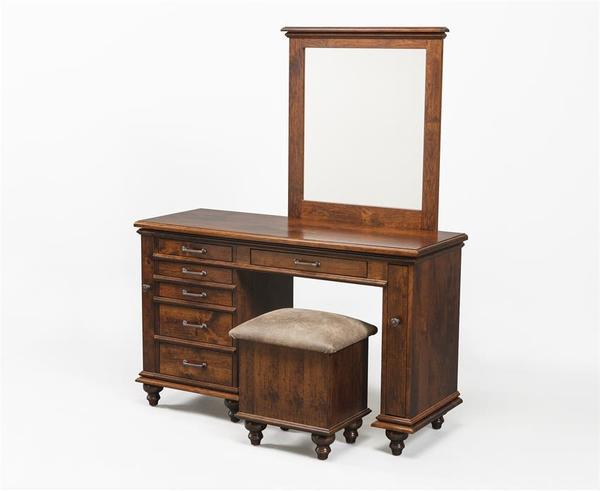 "Amish 50"" Plymouth Style Jewelry Vanity"