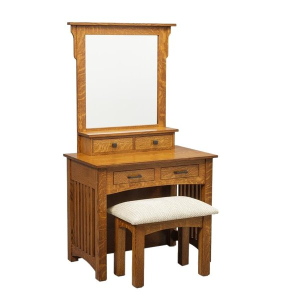 "Amish 36"" Mission Dressing Table"