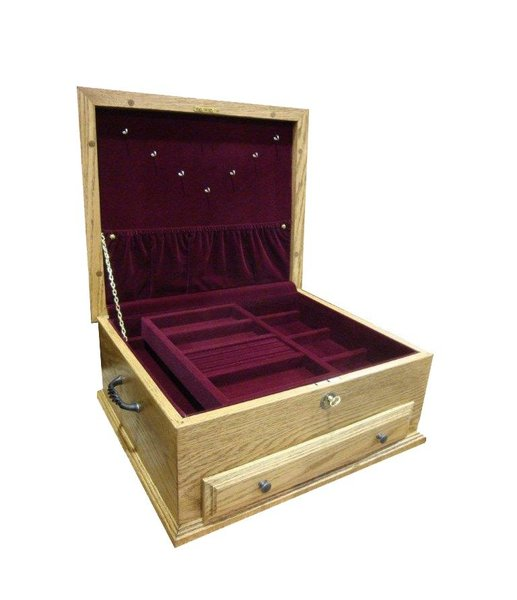 Deluxe Shaker Jewelry Box  - In Stock and Ready to Ship