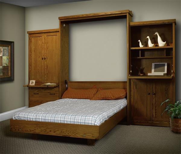ComfortWood Vertical Wall Bed