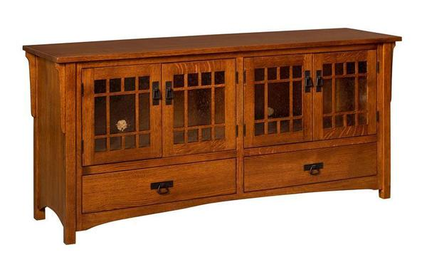 Amish Midway Mission Plasma TV Stand