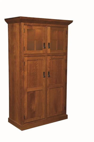Amish Stickley Heritage Mission 4-Door Pantry