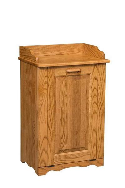 Amish Tilt Out Large Trash Bin