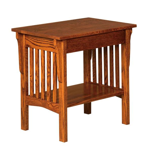 Amish Corbel Mission End Table
