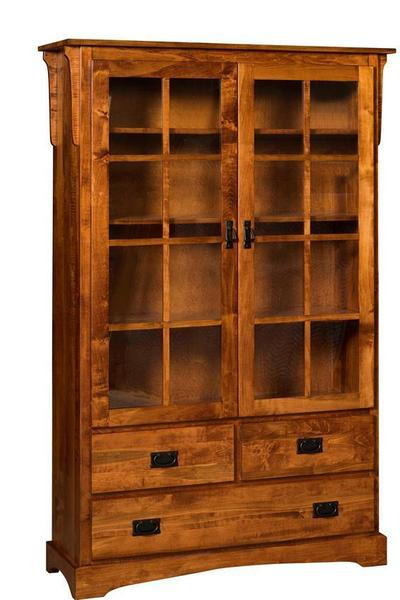 Craftsman Mission Bookcase with Drawer
