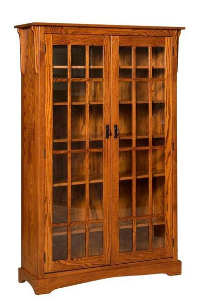Amish Walker Mission Bookcase