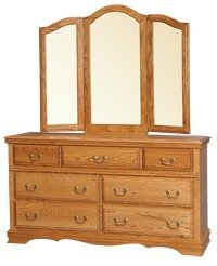 Amish American Heritage Double Dresser