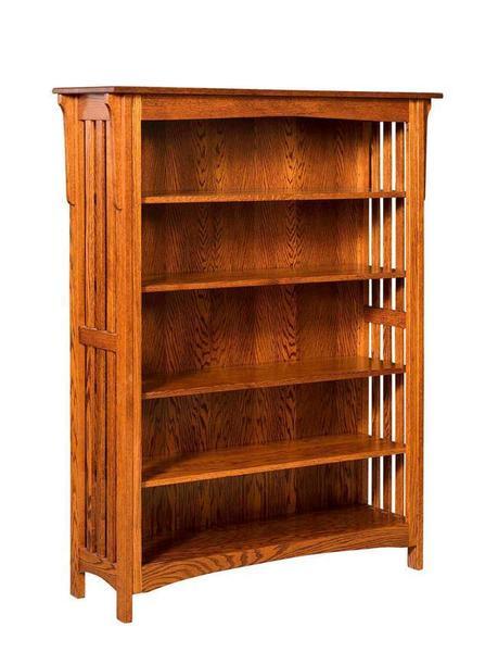 Amish Hudson Mission Bookcase