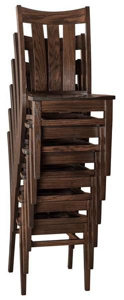 Amish Lamont Stacking Chair
