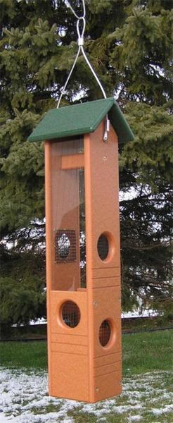 Poly Ultimate Black Oil Bird Feeder