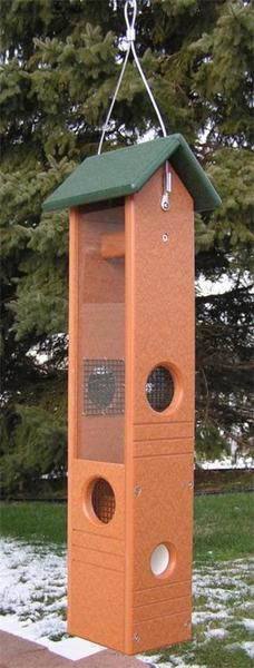 Amish Poly Ultimate Bird Feeder with Suet Plug