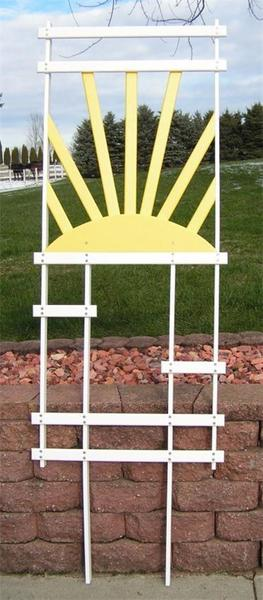 Amish Poly Sunrise Trellis