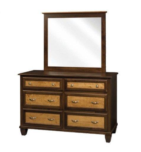 Amish Bayview Six Drawer Dresser
