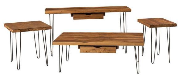 Urban Reclaimed Hairpin Sofa Table