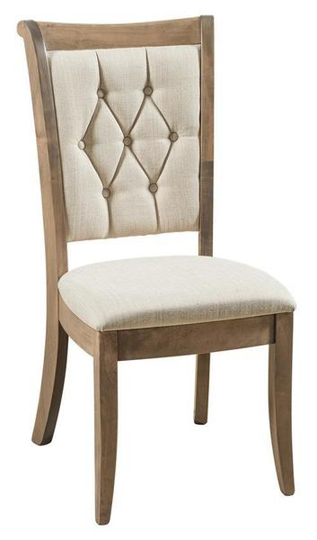 Amish Chelsea Upholstered Dining Chair