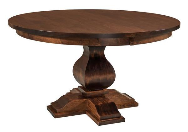 Amish Barrington Single Pedestal Table