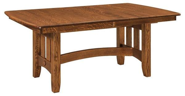 Amish Baltimore Mission Trestle Table